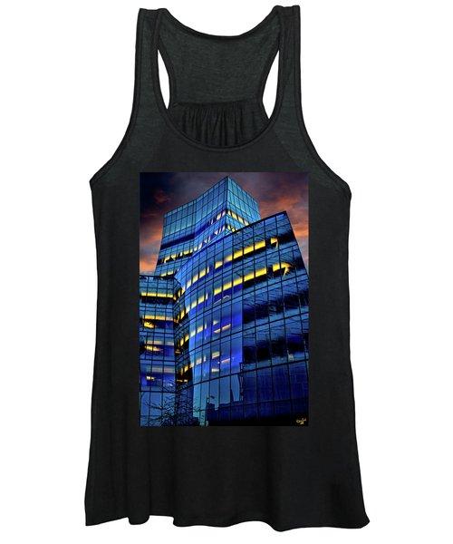 Frank Gehrys Iac Building Women's Tank Top