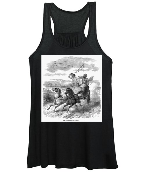 India: Mail Carrier, 1867 Women's Tank Top