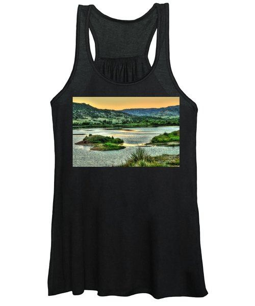 Lakeside View Women's Tank Top