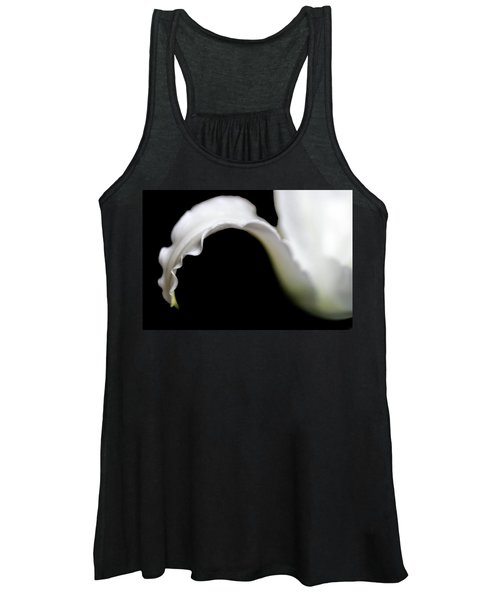 Lily Petal From A Side View Women's Tank Top