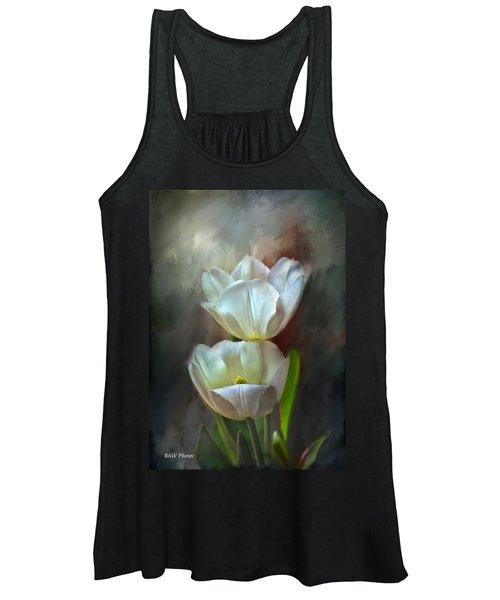 Majestic Tulips Women's Tank Top