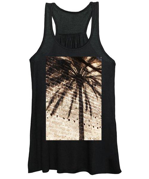 Palm Shadow Women's Tank Top