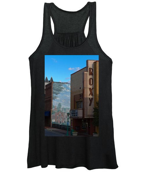 Roxy Theater And Mural Women's Tank Top