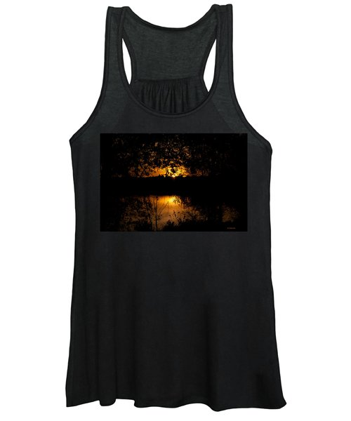 Scary Sunset Women's Tank Top