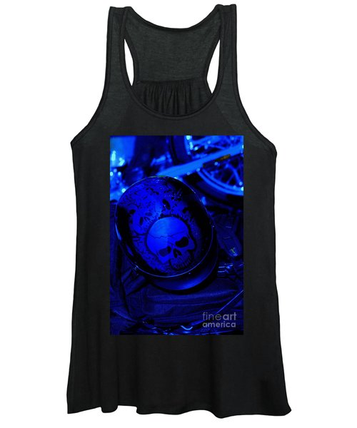 Skull Cap Women's Tank Top