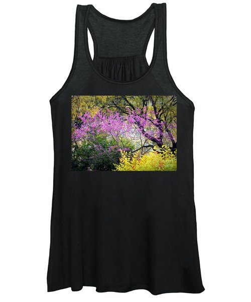 Spring Trees In San Antonio Women's Tank Top