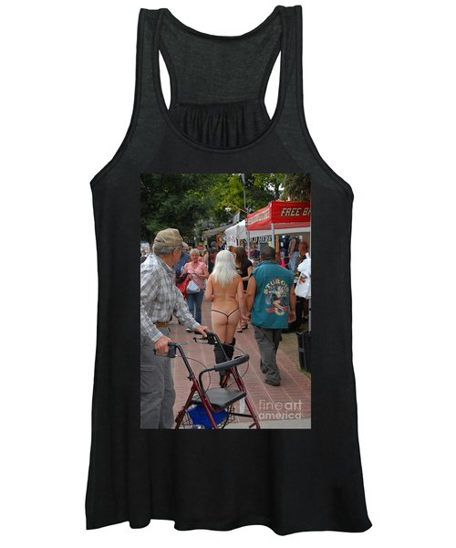 South Dakota Stop Light Women's Tank Top