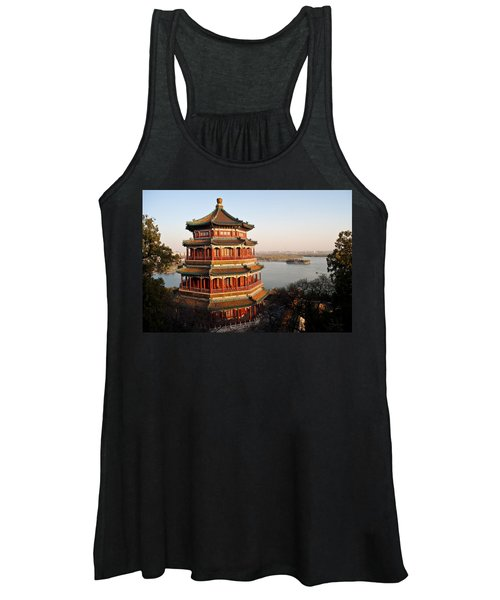 Temple Of The Fragrant Buddha Women's Tank Top