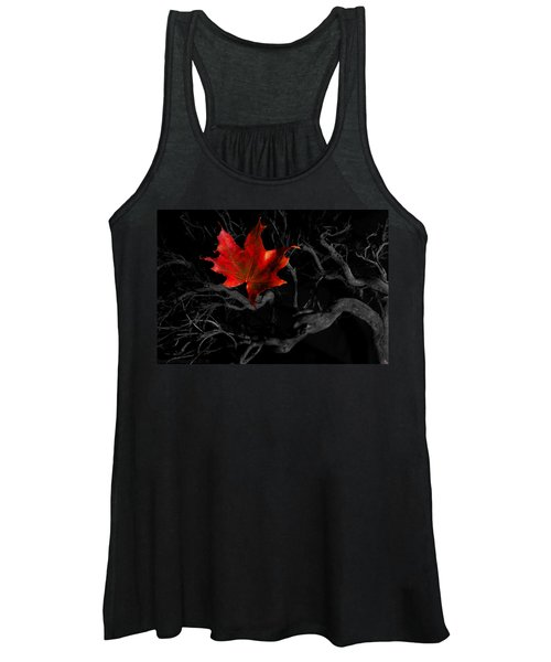 The Red Leaf Women's Tank Top