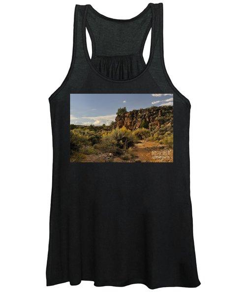 Westward Across The Mesa Women's Tank Top