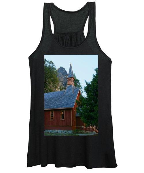Yosemite Chapel Women's Tank Top