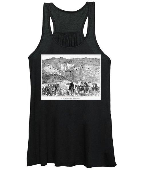 Zulu War: Battle, 1879 Women's Tank Top