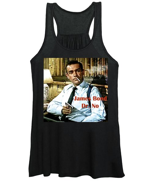 007, James Bond, Sean Connery, Dr No Women's Tank Top