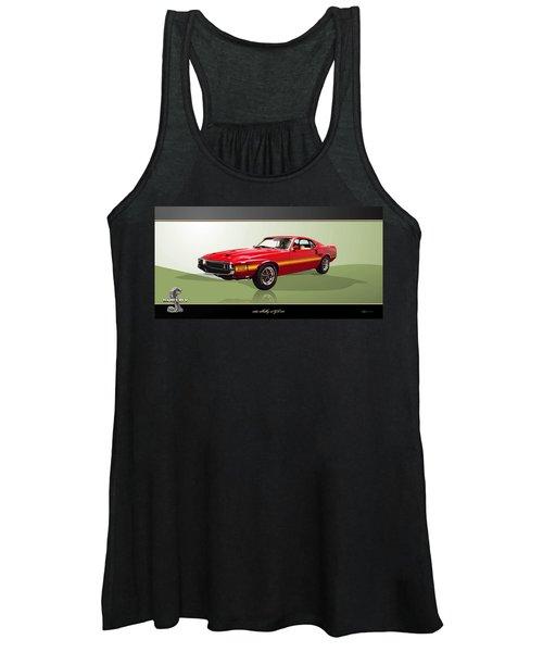 1969 Shelby V8 Gt350  Women's Tank Top