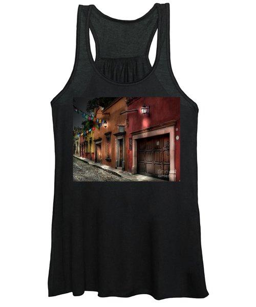1 A.m. Street Photo Women's Tank Top
