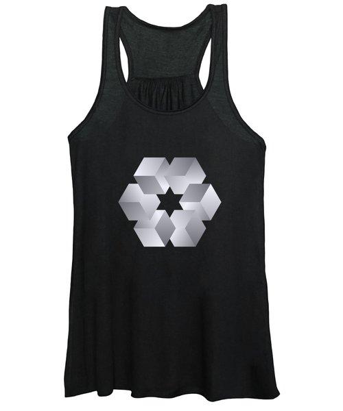 Cube Star Women's Tank Top
