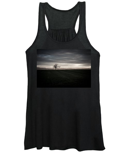 Dark And Light Women's Tank Top