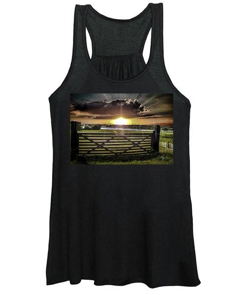 English Countryside Women's Tank Top