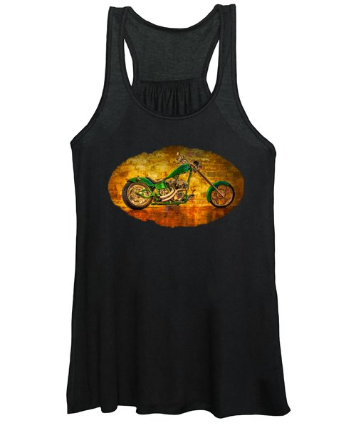 Green Chopper Women's Tank Top
