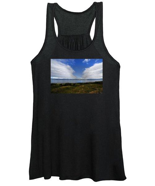 Irish Sky - Ring Of Kerry, Dingle Bay Women's Tank Top