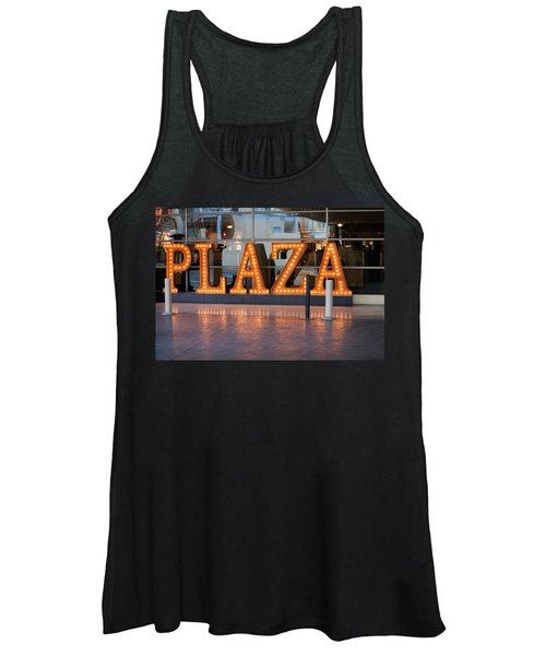 Neon Plaza Women's Tank Top