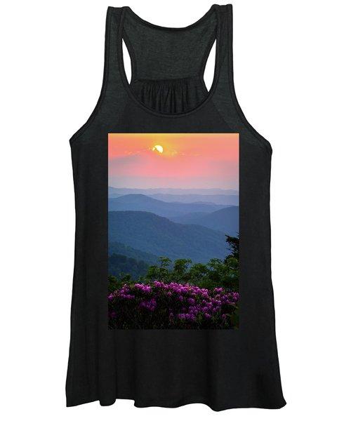 Roan Mountain Sunset Women's Tank Top