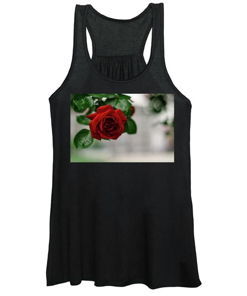 Roses In The City Park Women's Tank Top