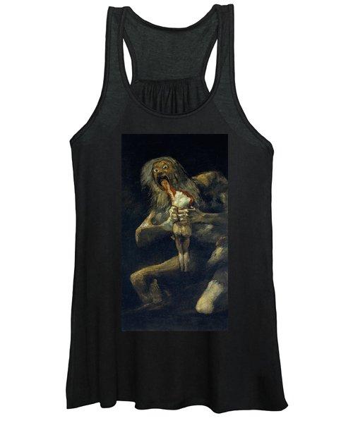Saturn Devouring His Son Women's Tank Top