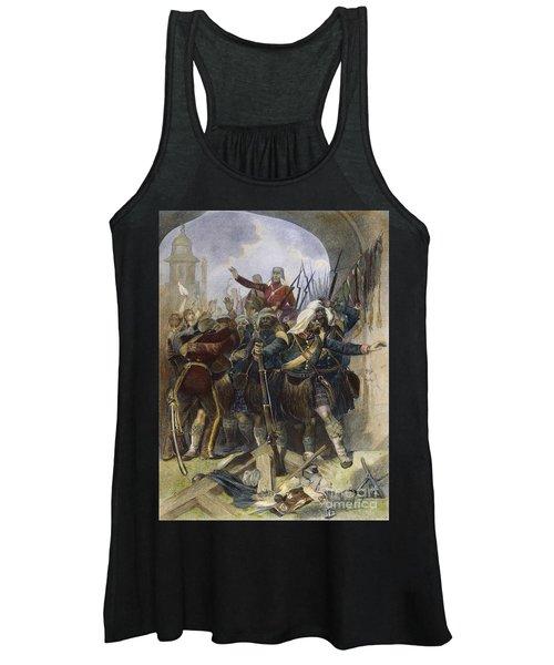 Sepoy Rebellion, 1857 Women's Tank Top