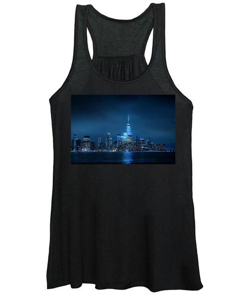 Skyline At Night Women's Tank Top