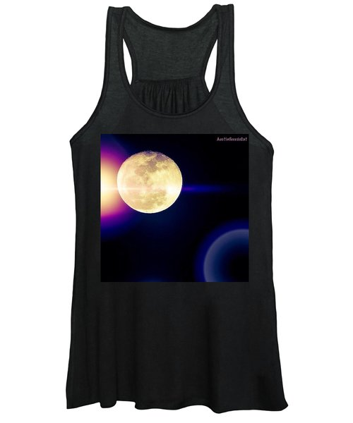 Wouldn't It Be Great If The #moon And Women's Tank Top