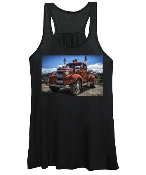 1940 Chevrolet Fire Truck  Women's Tank Top