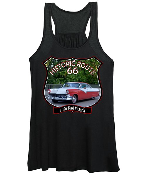1956 Ford Victoria Russell 1 Women's Tank Top