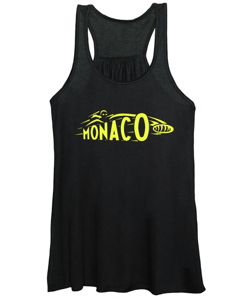 1961 Monaco Grand Prix Women's Tank Top