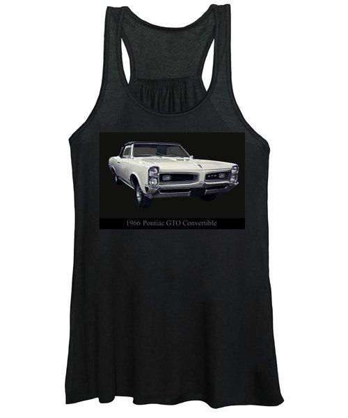1966 Pontiac Gto Convertible Women's Tank Top