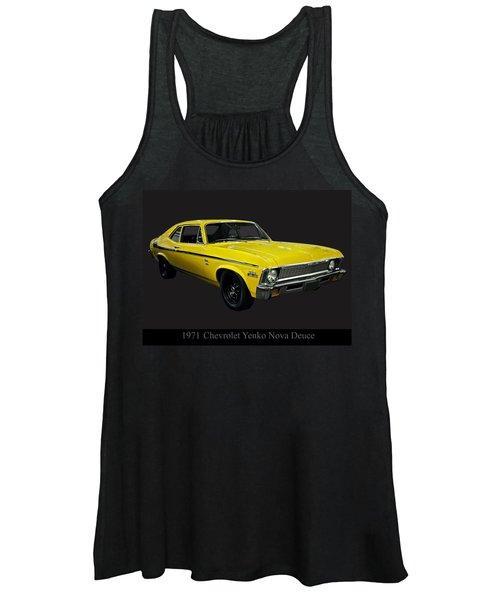 1971 Chevy Nova Yenko Deuce Women's Tank Top