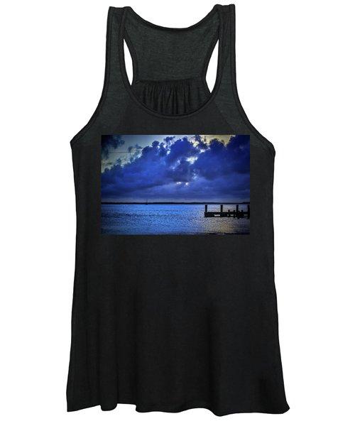 Blue Sunset Women's Tank Top