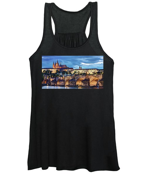 Charles Bridge And Prague Castle / Prague Women's Tank Top