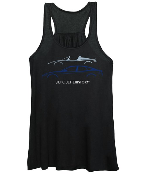 Electric Silhouettehistory Women's Tank Top