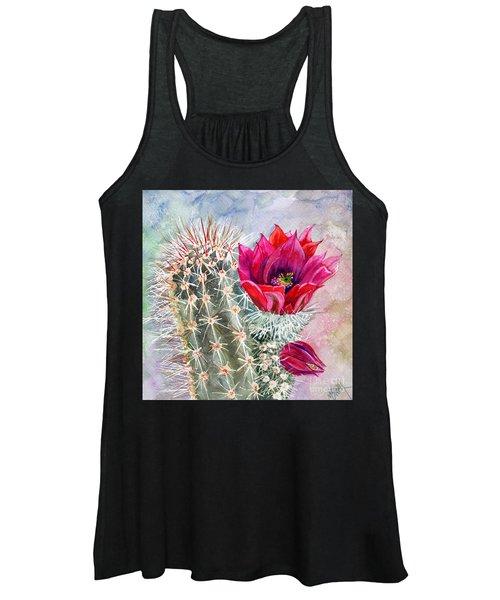 Hedgehog Cactus Women's Tank Top