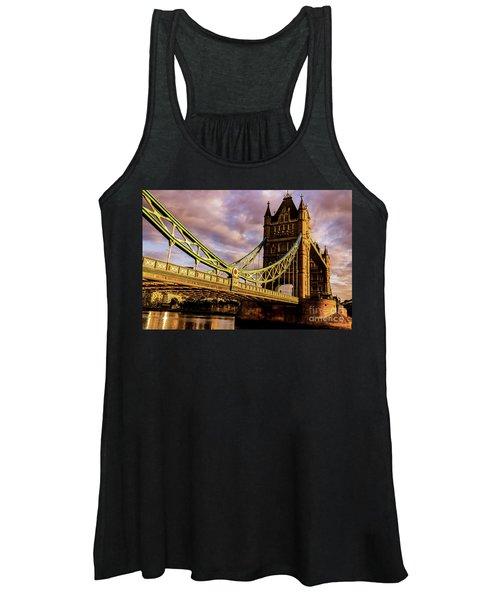 London Tower Bridge. Women's Tank Top