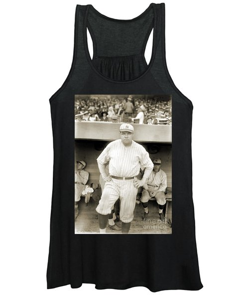 George H. Ruth (1895-1948) Women's Tank Top