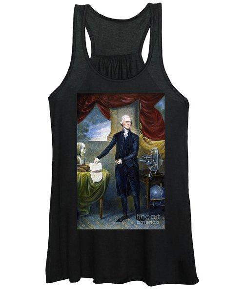 Thomas Jefferson (1743-1826) Women's Tank Top