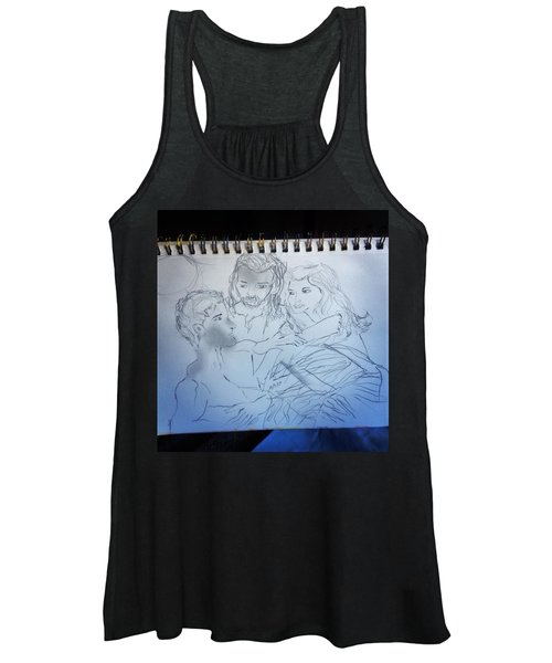 Adam Andeve The Creation Story Women's Tank Top