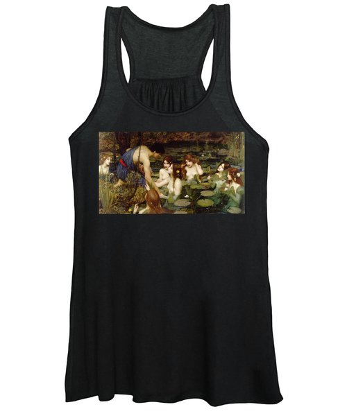 Hylas And The Nymphs Women's Tank Top