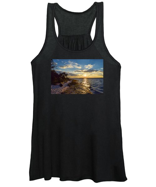 Sunset On The Cape Fear River Women's Tank Top