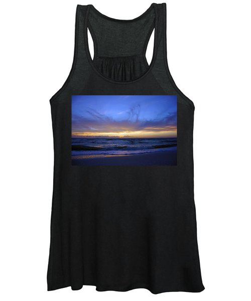 Sunset At Delnor Wiggins Pass State Park Women's Tank Top