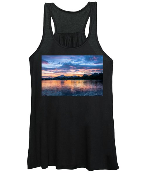 Sunrise Scenery In The Morning Women's Tank Top