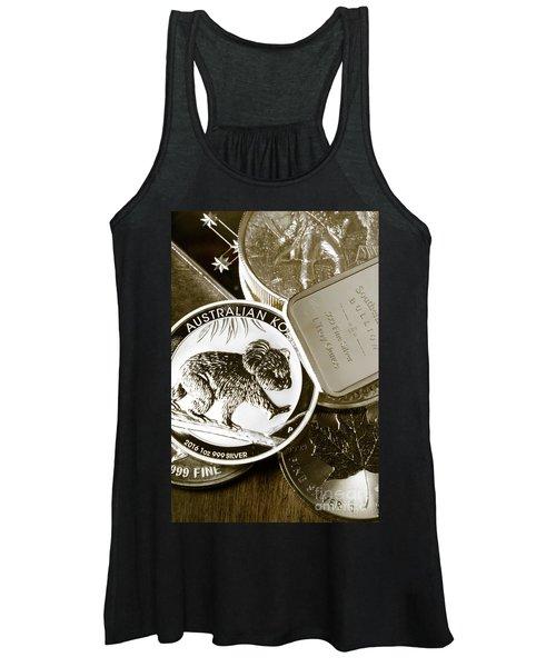 999 Silver Mint Women's Tank Top
