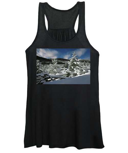 A Place In The Winter Sun Women's Tank Top